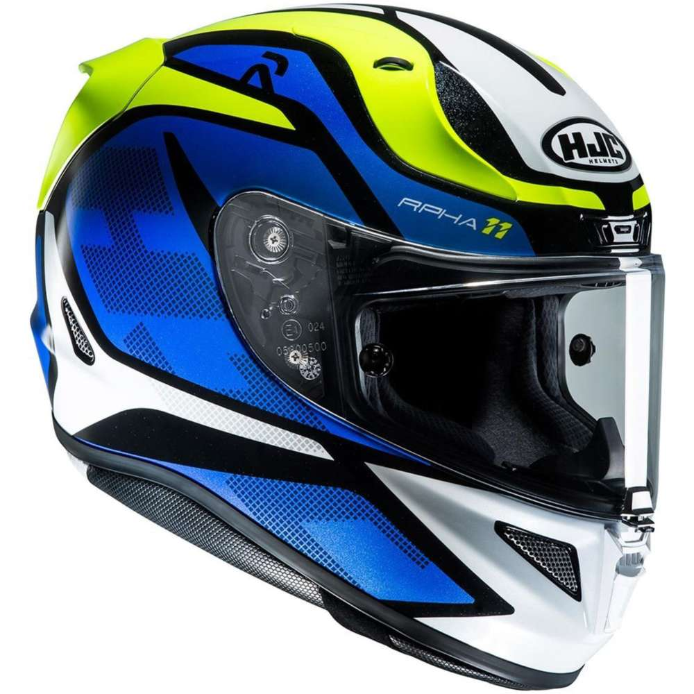 hjc rpha 11 deroka helmet blue hjc 135002 mc2 full face helmets motostorm. Black Bedroom Furniture Sets. Home Design Ideas