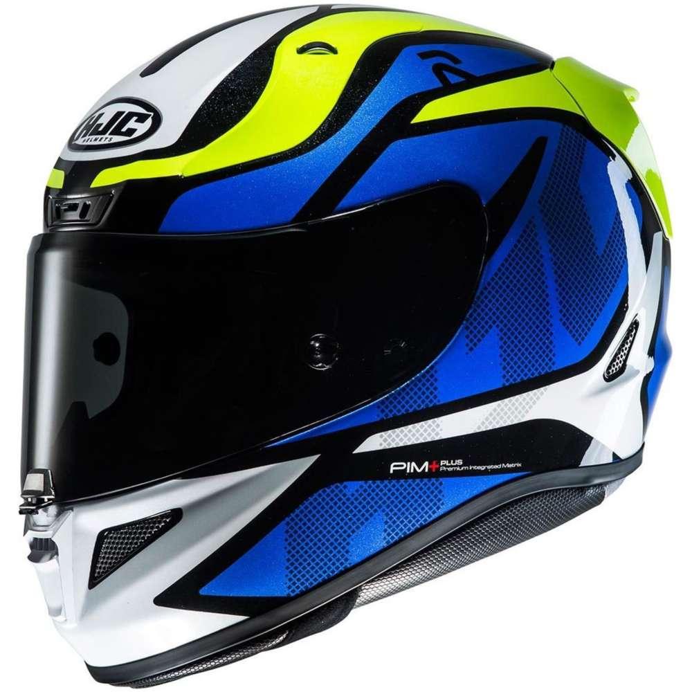 hjc rpha 11 deroka helmet blue motostorm. Black Bedroom Furniture Sets. Home Design Ideas
