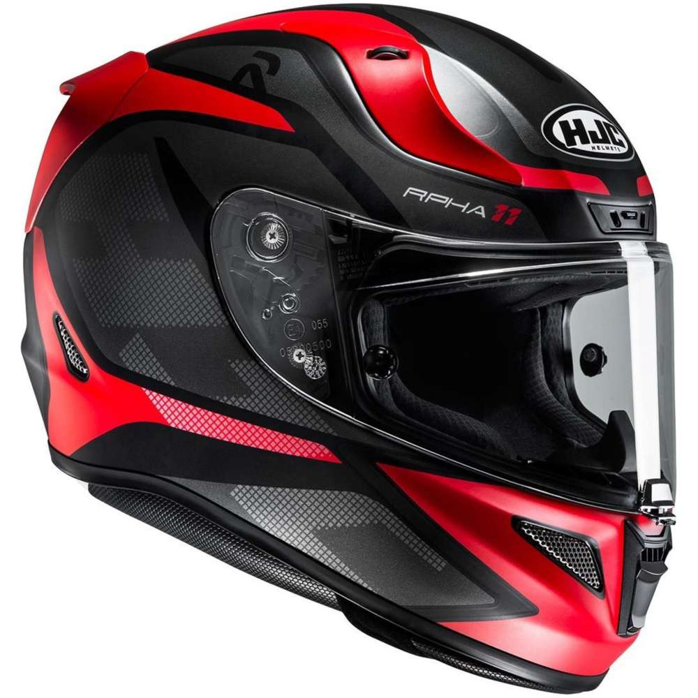 hjc rpha 11 deroka helmet red hjc 135071 mc1sf full face helmets motostorm. Black Bedroom Furniture Sets. Home Design Ideas
