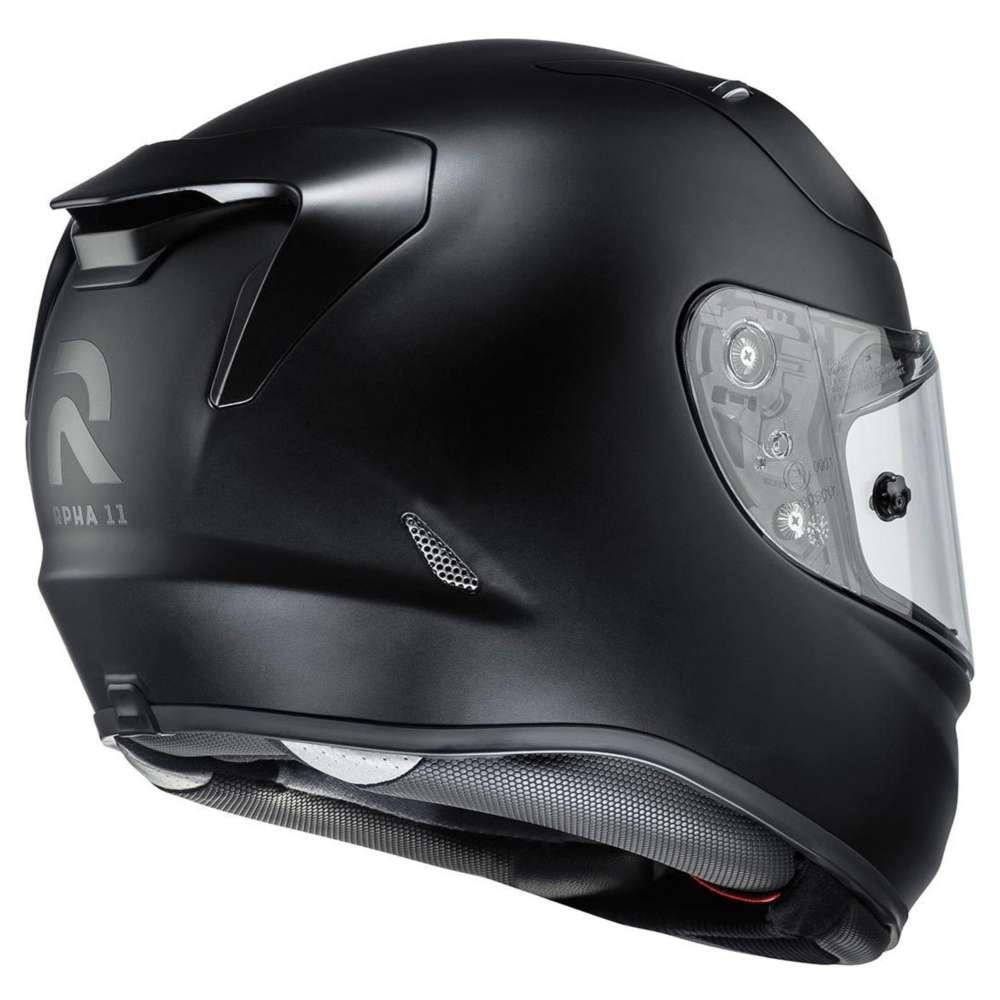 hjc rpha 11 helmet matt black hjc 132070 sfb full face. Black Bedroom Furniture Sets. Home Design Ideas
