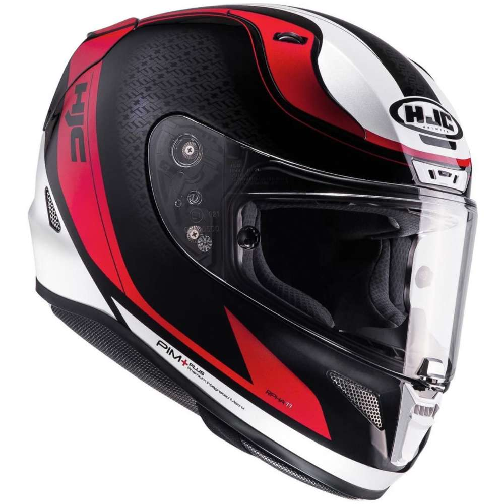 Hjc Rpha 11 Riomont Helmet Red