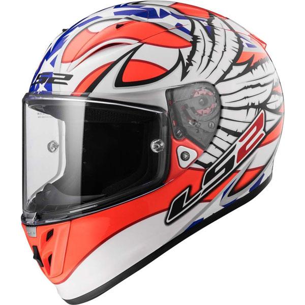 Ls2 Arrow R Evo Ff323 Freedom White/orange/blue