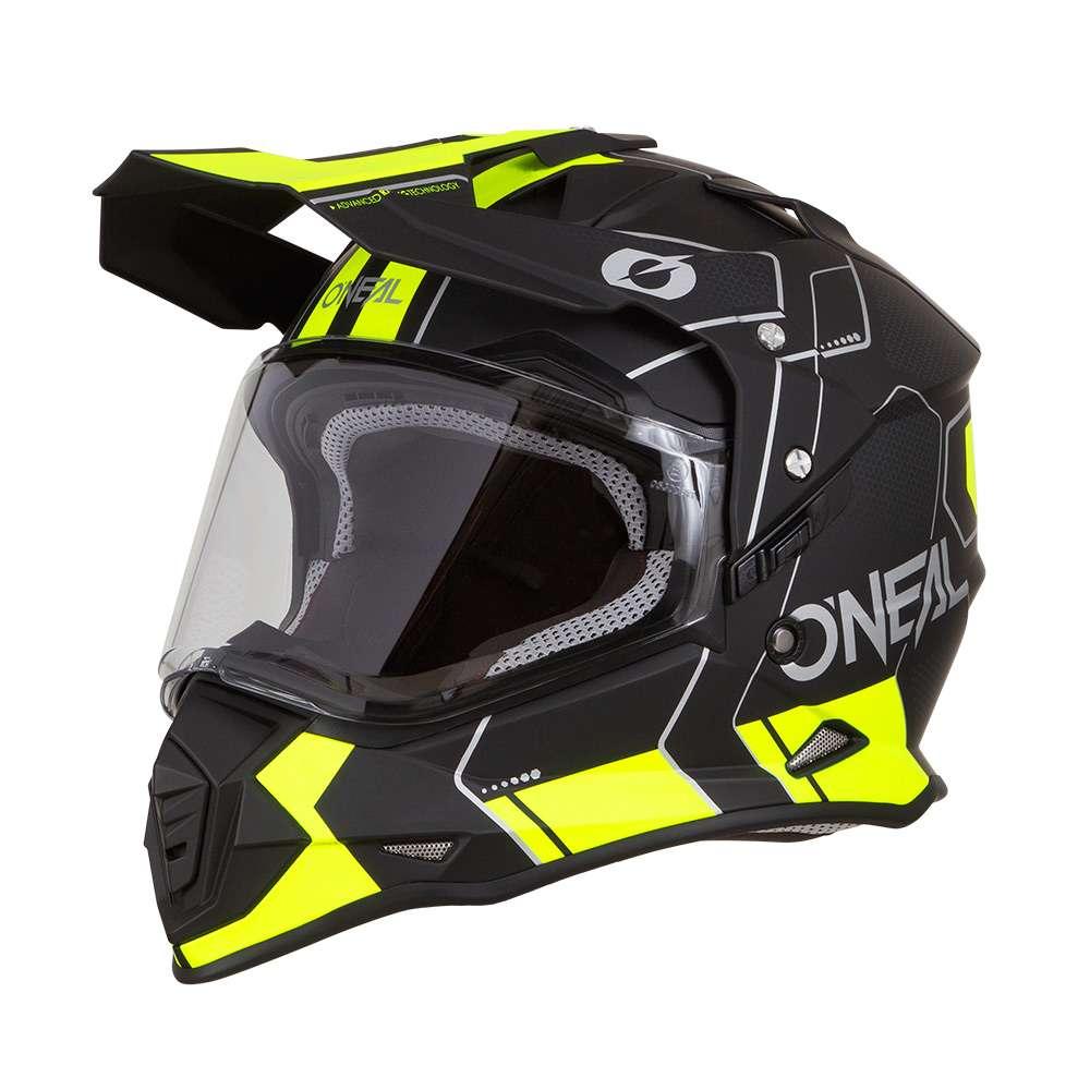 O'Neal Sierra 2 2019 Helm schwarz neon gelb