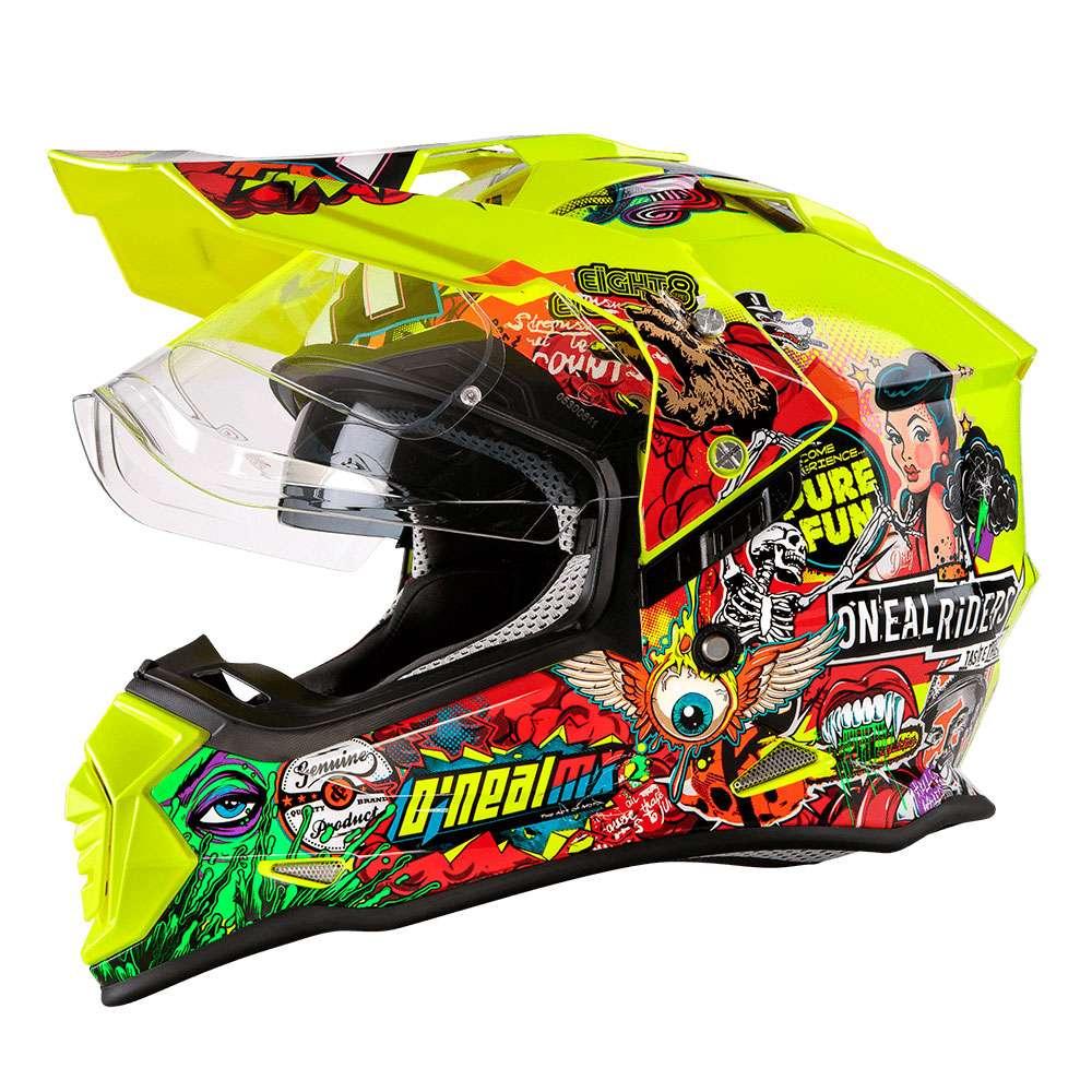 O'Neal Sierra II Crank Helm multicolor