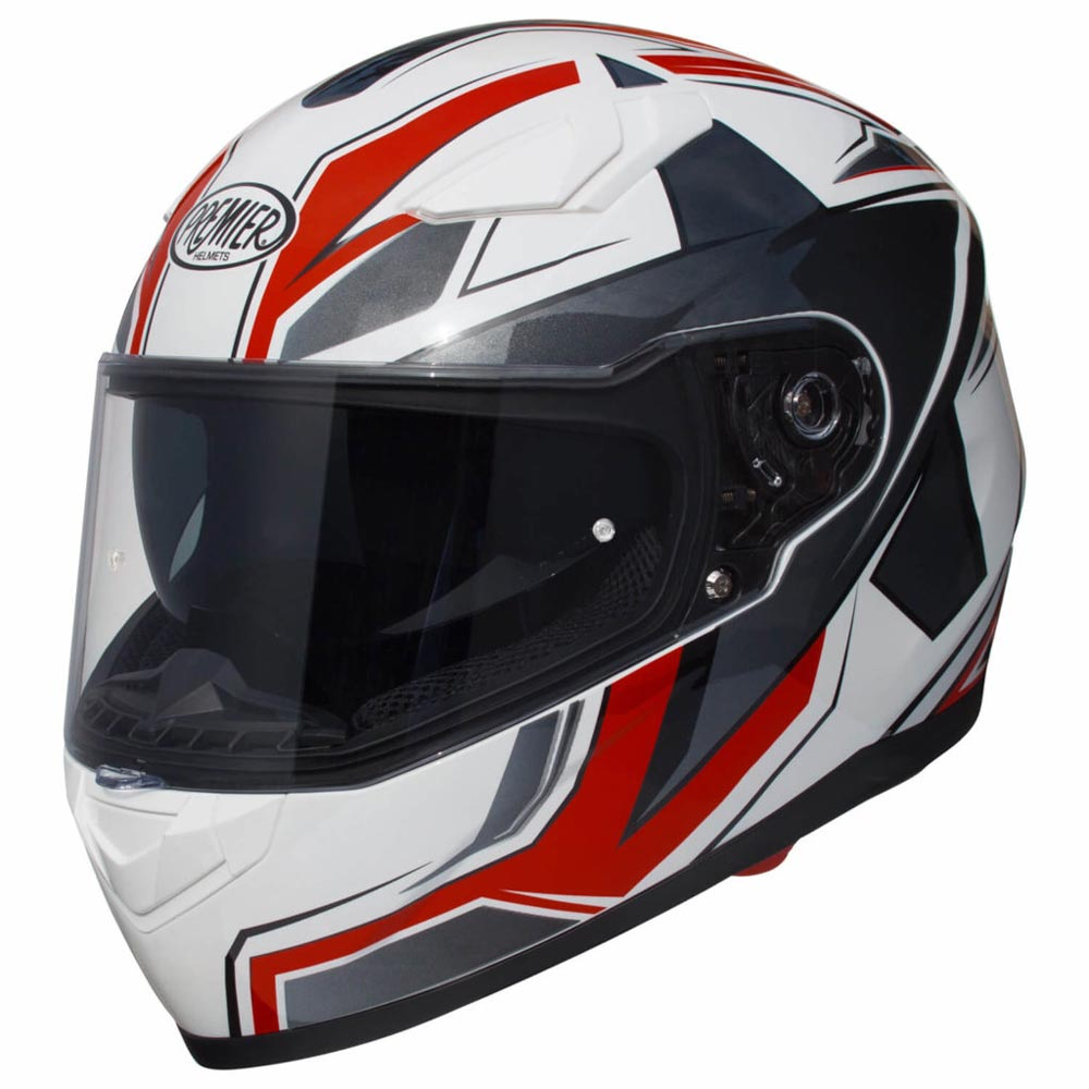 bbe1fb7508e Premier Viper Sr2 2019 Helmet White APINTVIPPOLSR200 Full Face ...