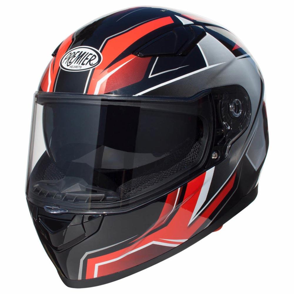 9fbd0937 Premier Viper Sr92 2019 Helmet Black Red APINTVIPPOLS9200 Full Face ...
