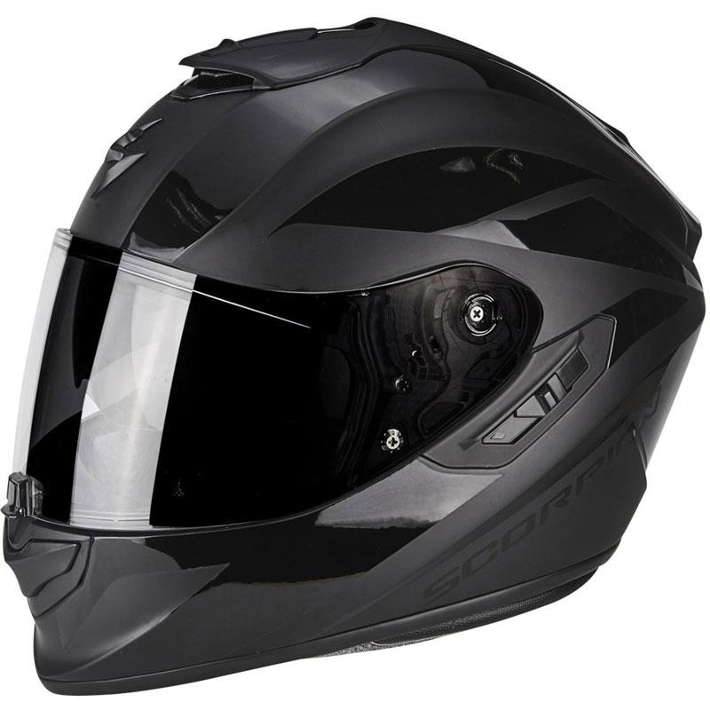 scorpion exo 1400 air freeway 2 matt black 14 161 48 full face helmets motostorm. Black Bedroom Furniture Sets. Home Design Ideas