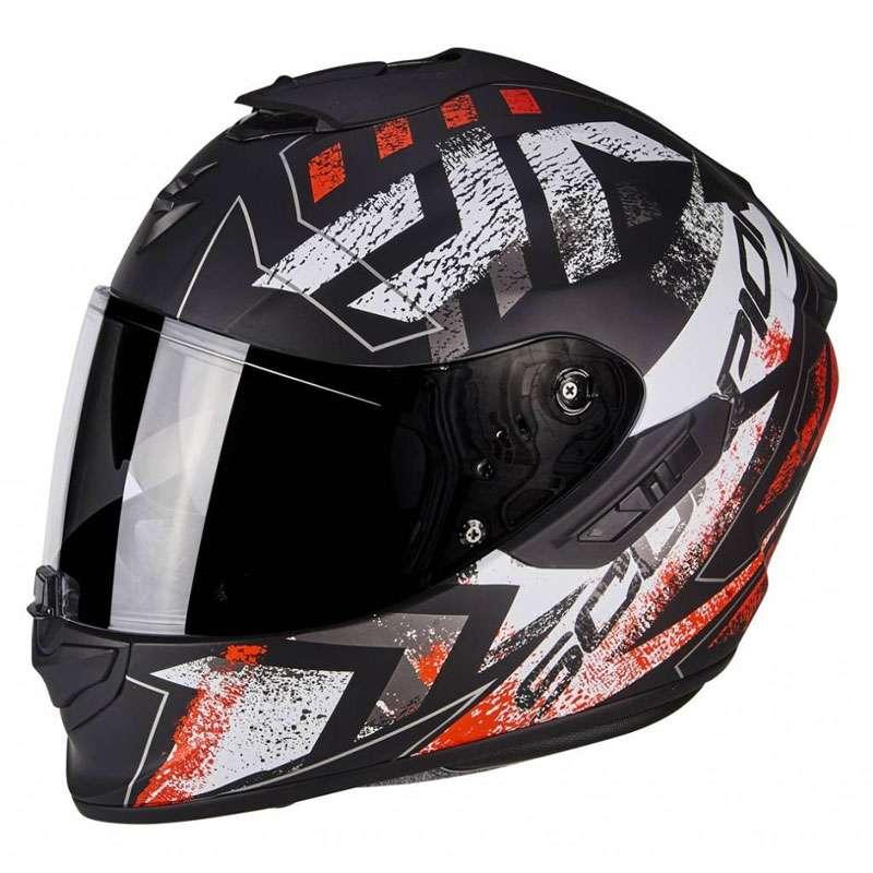 Scorpion Exo-1400 Air picta schwarz matt rot