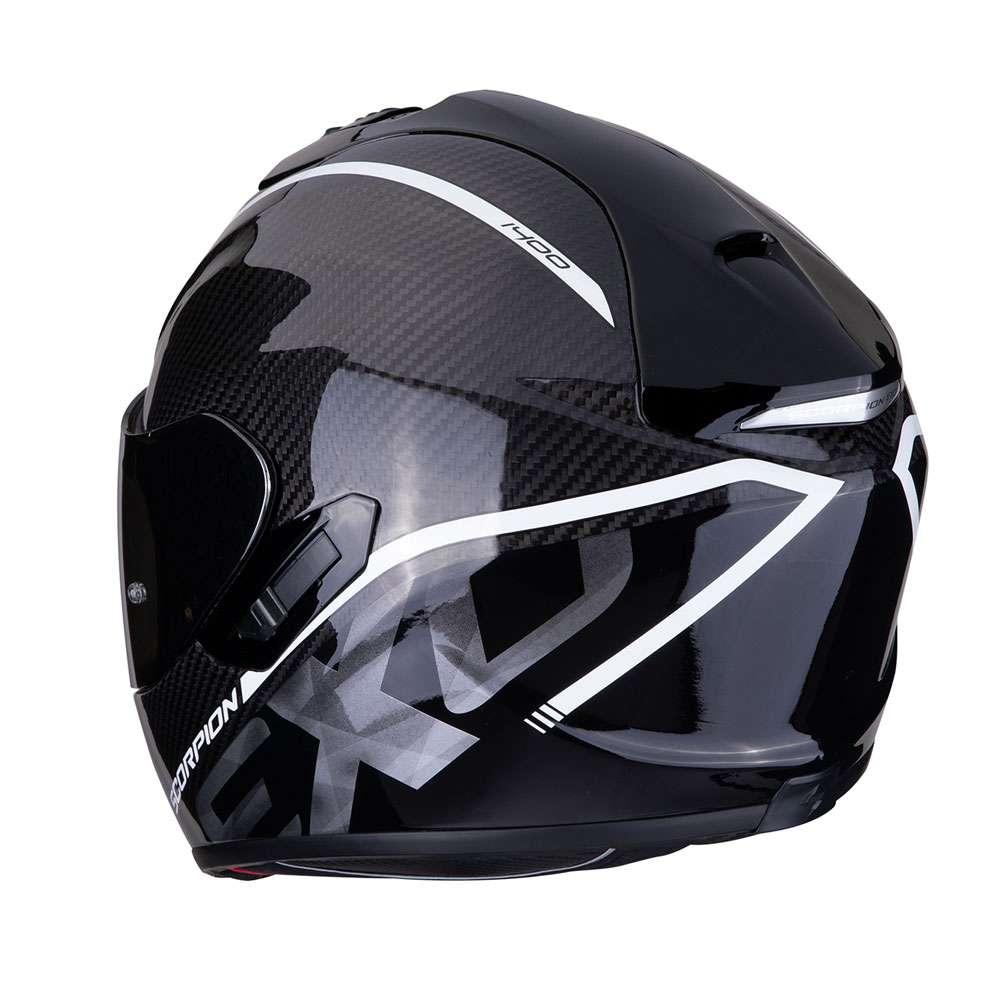 full face helmet scorpion exo 1400 air carbon grand white 14 273 05 full face helmets motostorm. Black Bedroom Furniture Sets. Home Design Ideas