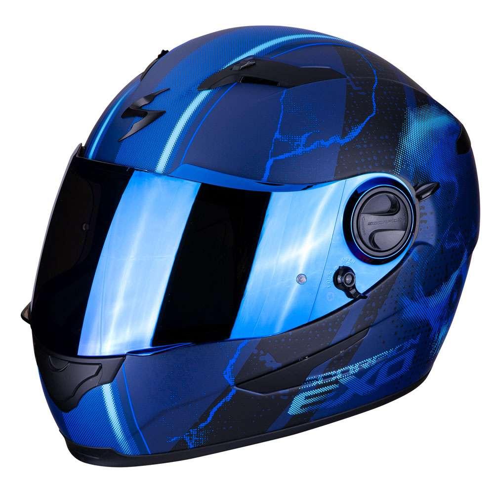Scorpion EXO-490 DAR Matt Blue XL