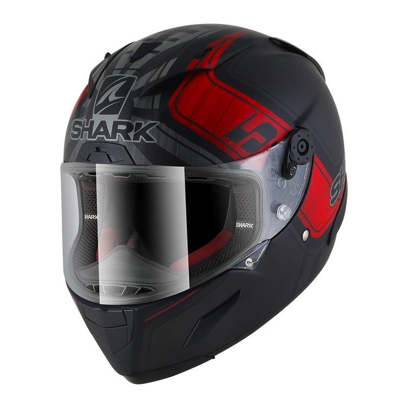 Shark Race-r Pro Zarco Gp Francia Nero Rosso