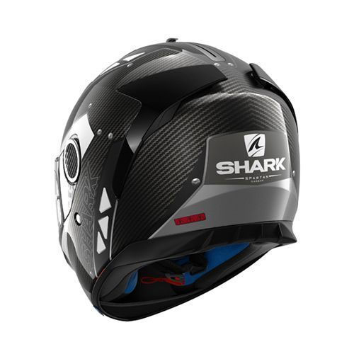 shark spartan carbon bionic motostorm. Black Bedroom Furniture Sets. Home Design Ideas