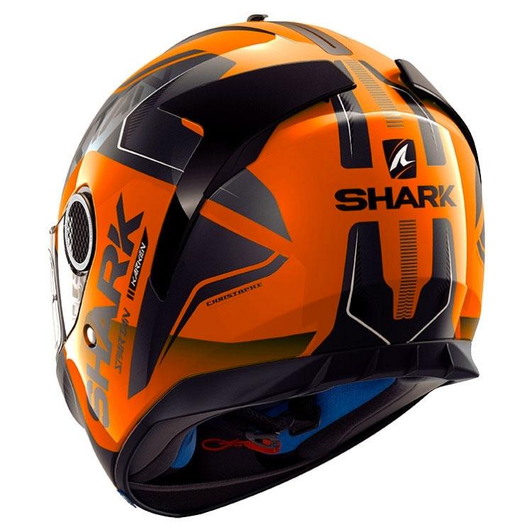 shark spartan 1 2 karken high visibility fluo orange. Black Bedroom Furniture Sets. Home Design Ideas