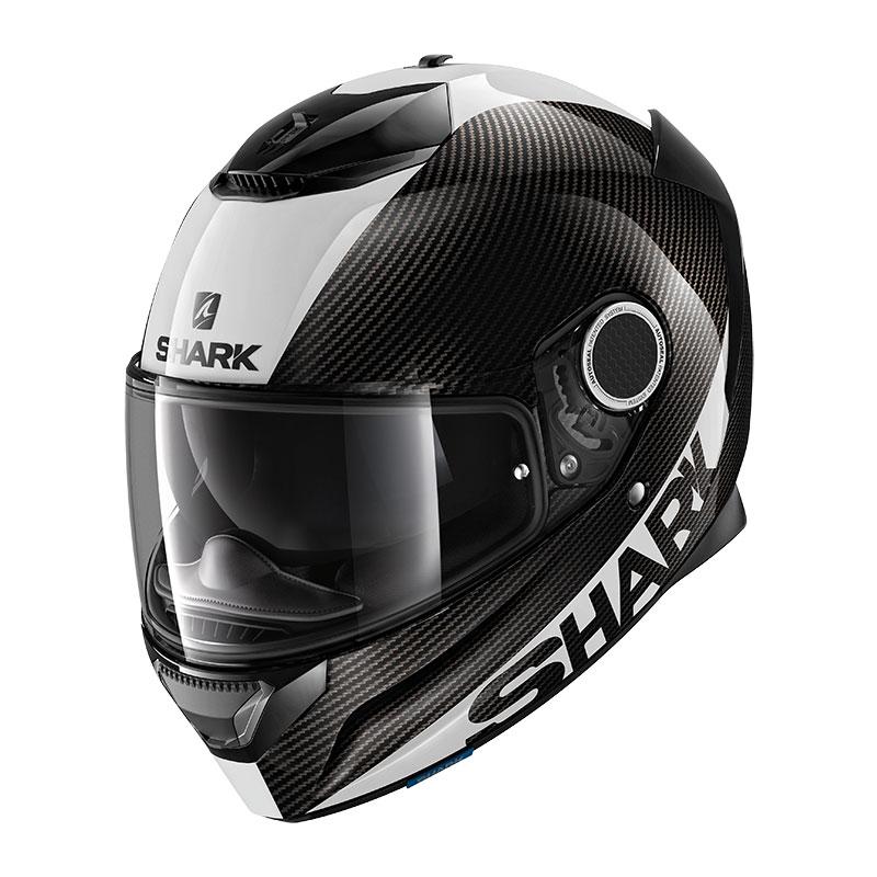 Spartan Shark Skin Carbon 1 2 Helmet White