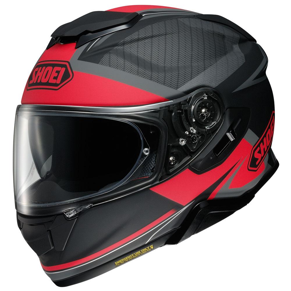Helm Shoei Gt Air 2 Affair TC1 rot schwarz