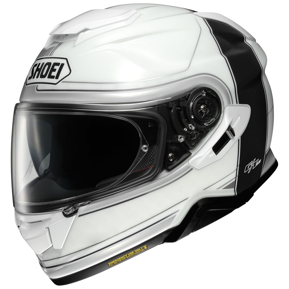 Casque Moto Shoei Gt Air 2 Crossbar Tc6 Noir Casques Integraux Sh