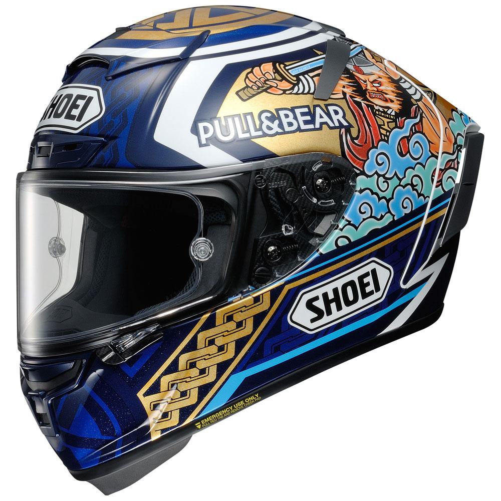 Shoei X-spirit 3 Marquez Motegi 3 Tc2