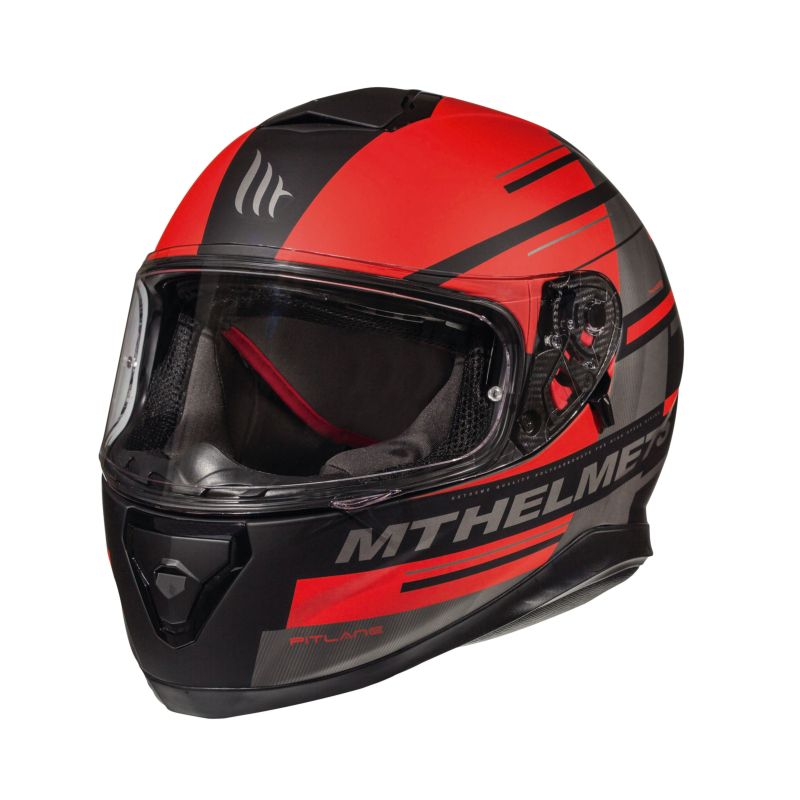 a068aed41 Mt Helmets Thunder 3 Sv Pitlane C5 Red MT-105550725 Full Face ...