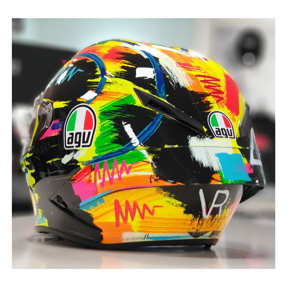 agv pista gp r valentino rossi winter test 2019. Black Bedroom Furniture Sets. Home Design Ideas