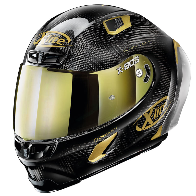 X-lite X-803 Rs Ultra Carbon Golden Edition Oro