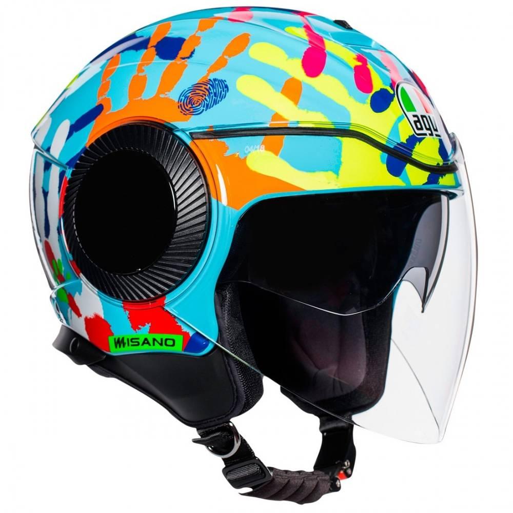 AGV Orbyt Misano 2014 Jet Helmet