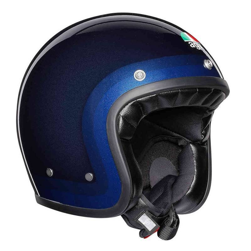 Agv X70 Jet Helm Blau