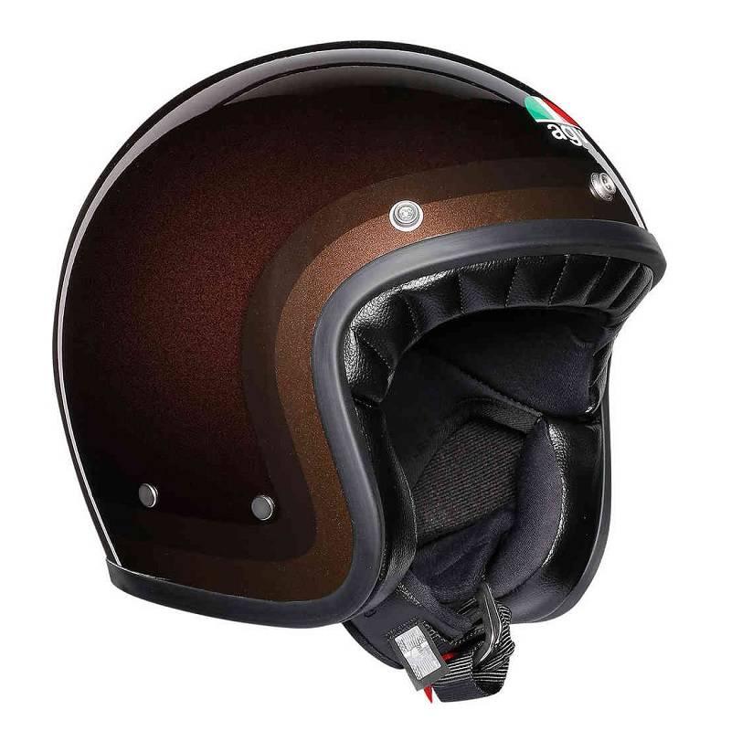 Agv X70 Jet Helm Schokolade