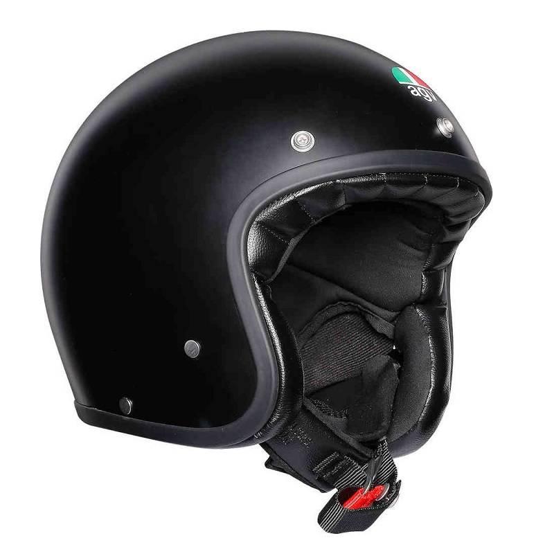 AGV X70 Jet Helm matt schwarz