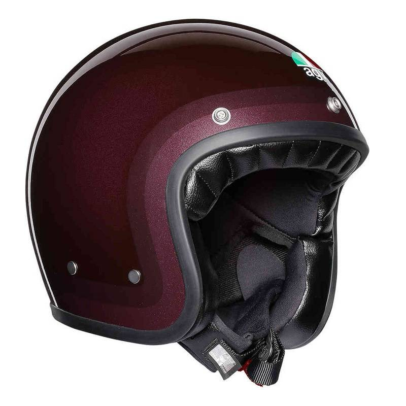 Agv X70 Jet Helm Lila Rot