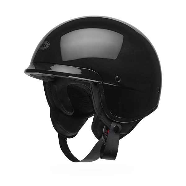 Bell Casco Jet Scout Air Nero Lucido