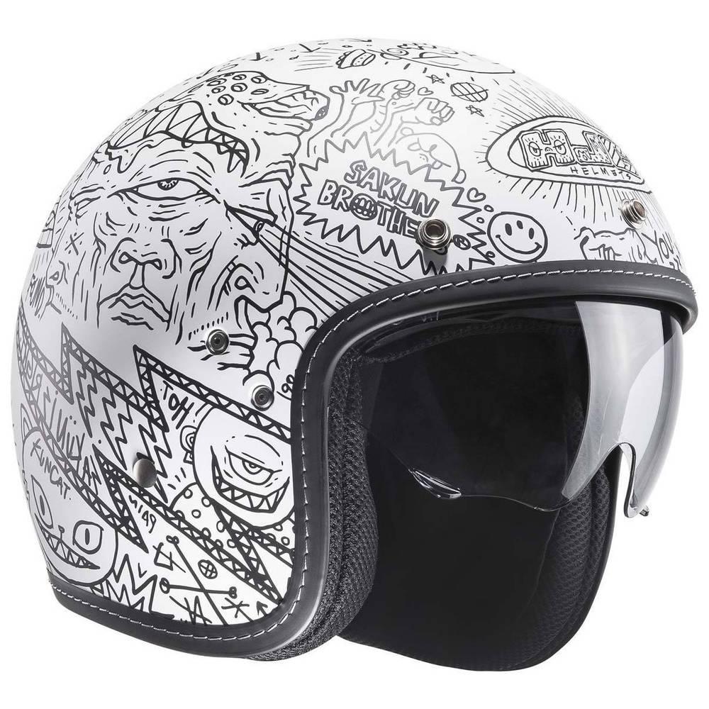 HJC FG-70s Machu MC10SF Helm