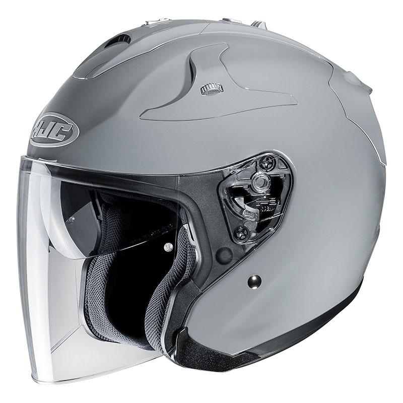 Titanium Size XL HJC FG-JET Matt Motorcycle Helmet