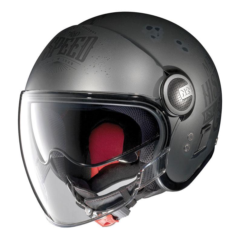 nolan n21 visor motogp legends flat asphalt motostorm. Black Bedroom Furniture Sets. Home Design Ideas