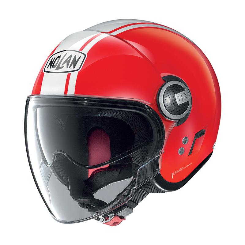 Nolan N21 Visor Dolce Vita Corsa Rosso