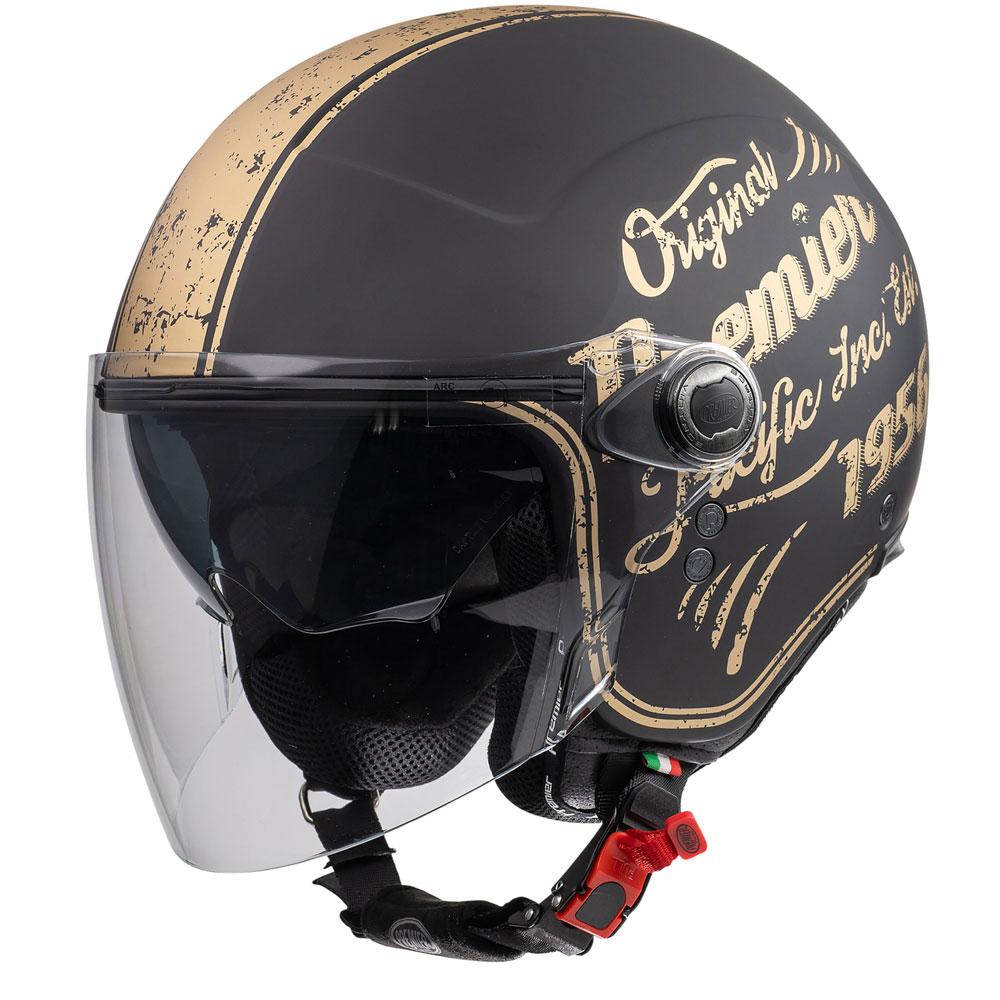 Premier Motorrad Helm Rocker Helm K 92 Bm Black