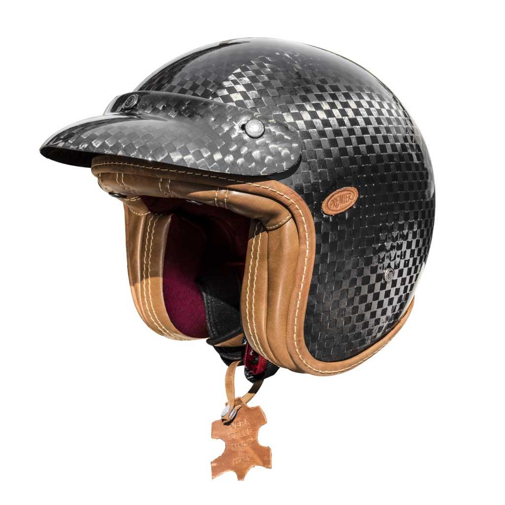 Premier Vintage Classic Carbon Tech Limited Edition Helmet