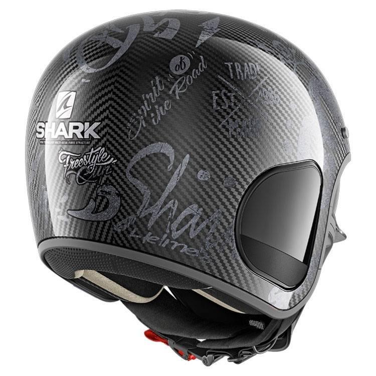 Shark S Drak Carbon Freestyle Cup Antracite Motostorm
