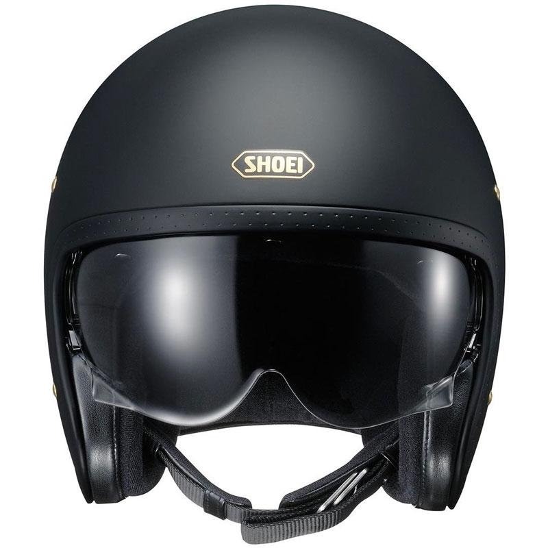 Shoei J O Matt Black Sho J O Black Matt Jet Helmets