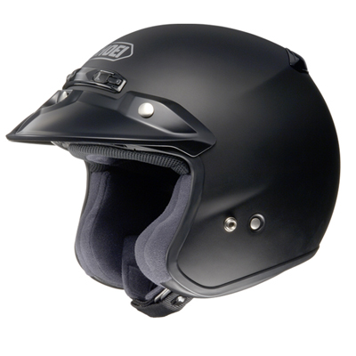 Shoei Rj Platinum-r Matt Black