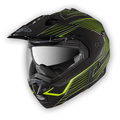 Caberg Tourmax Sonic Yellow Modular Helmet