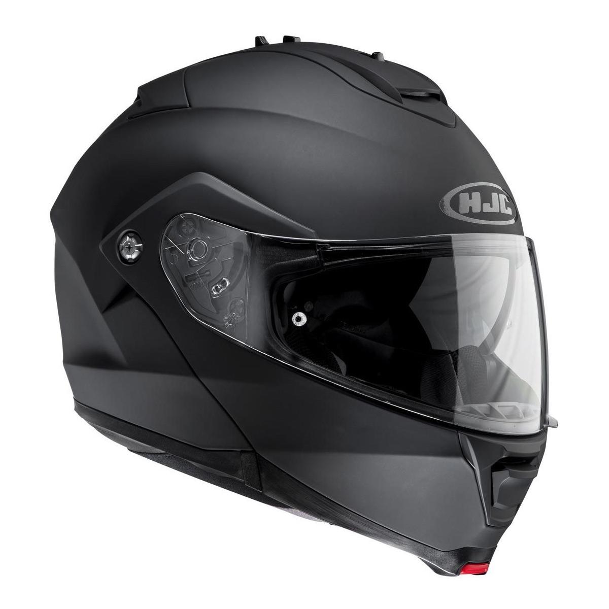 HJC ist Max 2 Rubberton Helm flach schwarz