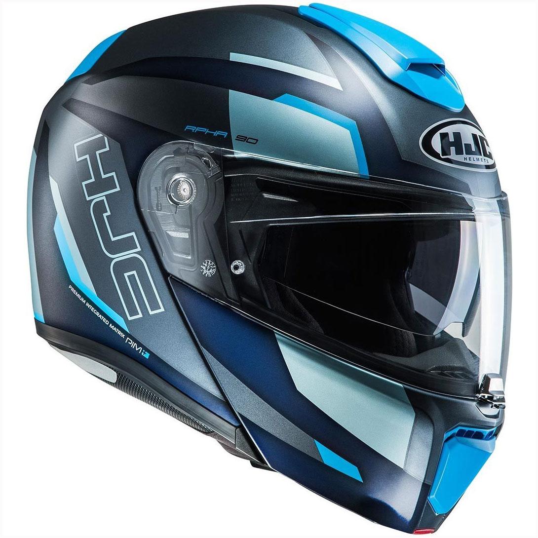 hjc rpha 90 rabrigo blue hjc 1462720 mc2sf modular helmets. Black Bedroom Furniture Sets. Home Design Ideas