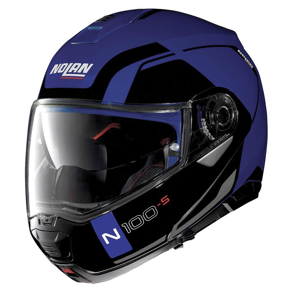 Nolan N100.5 Consistency N-com Flat Cayman Blu
