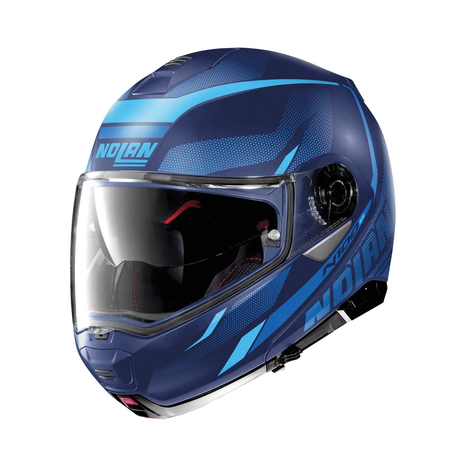 Nolan N100.5 Lumière N-Com modularer Helm blau
