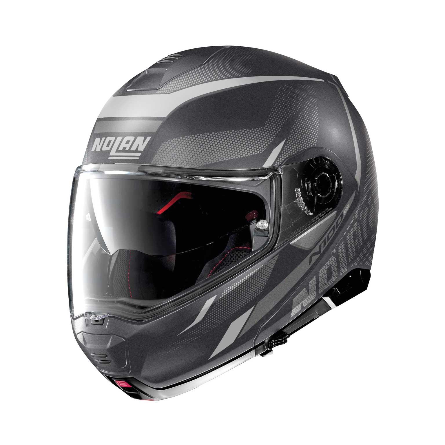Nolan N100.5 Lumière N-Com modularer Helm grau