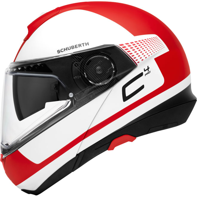 Schuberth C4 Pro Legacy Rosso