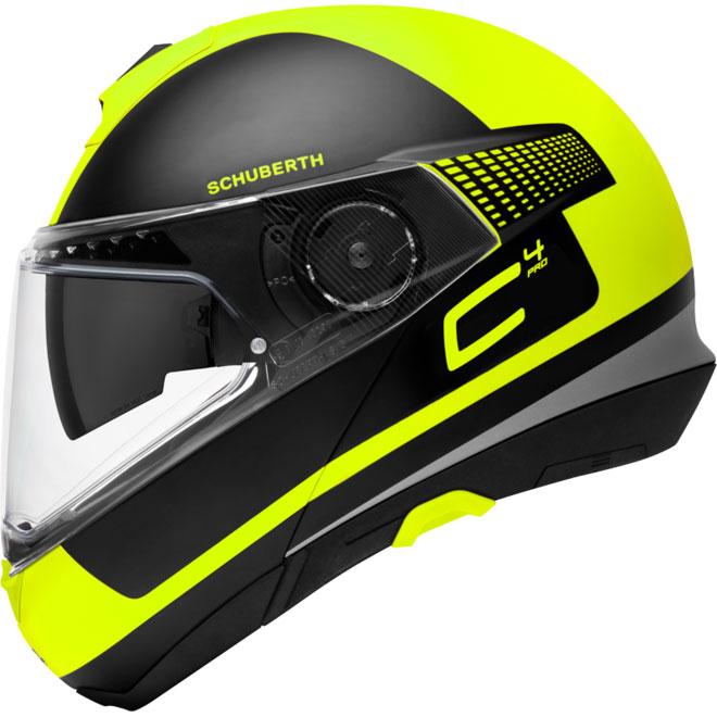 Schuberth C4 Pro Legacy Giallo