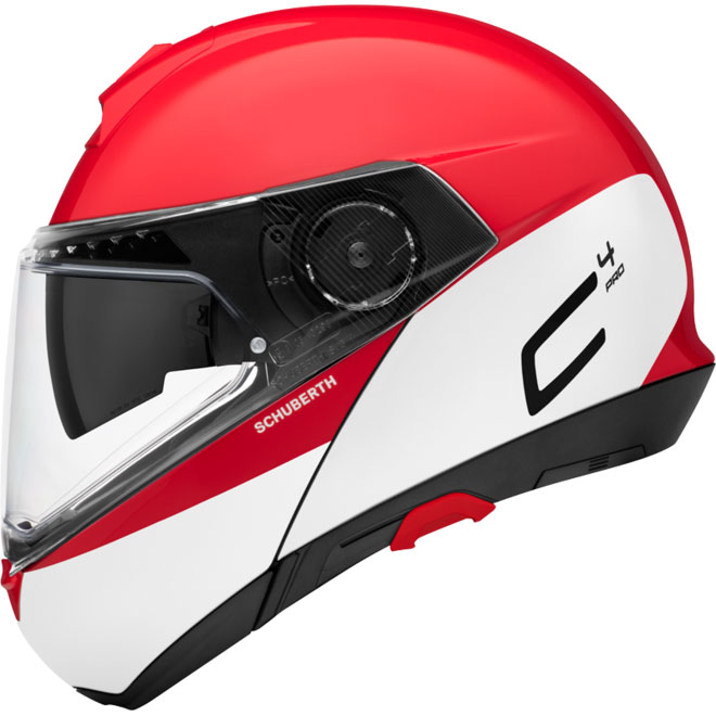 8c8c5891 Schuberth C4 Pro Swipe Red SH-454942 Modular Helmets | MotoStorm