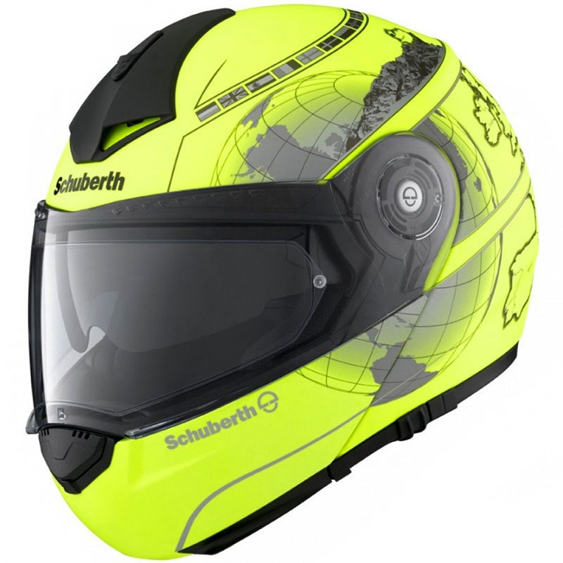 schuberth c3 pro matt fluo yellow europe motostorm. Black Bedroom Furniture Sets. Home Design Ideas