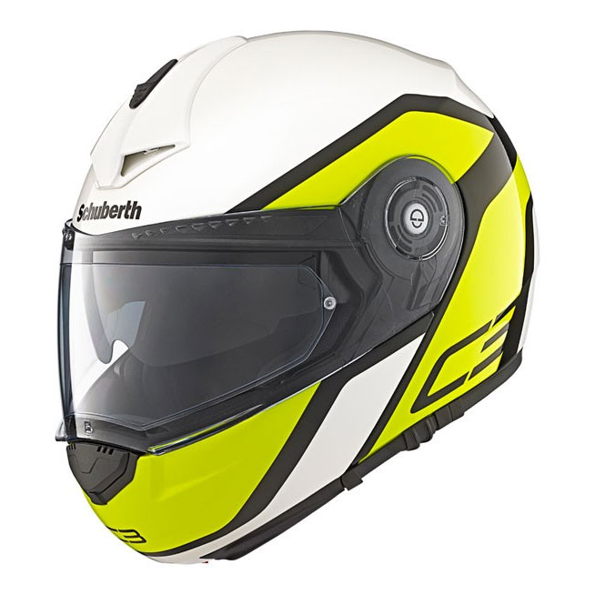schuberth c3 pro observer yellow motostorm. Black Bedroom Furniture Sets. Home Design Ideas